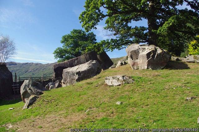 Langdale Boulders - Lake District