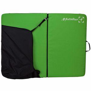 Metolius Sessions II Bouldering Pad – Green/Black